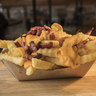 Bacon cheesefries