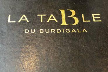 Un déjeuner à l'Hotel Burdigala !