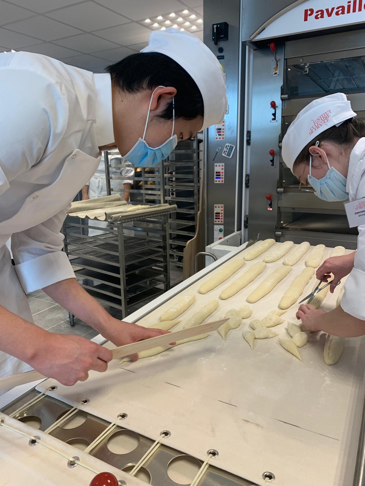 Visite à l'Institut Culinaire de France